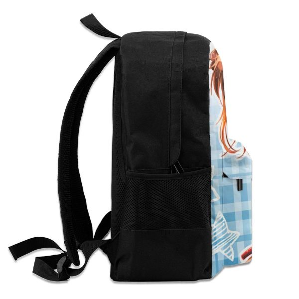 Gintama Backpacks Woman Durable Cool Backpack Polyester Daily Bags 4 - Anime Backpacks