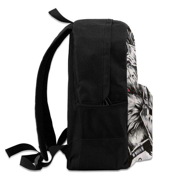 Goblin Slayer Backpacks Travel Youth Pattern Backpack Pretty Polyester Bags 4 - Anime Backpacks