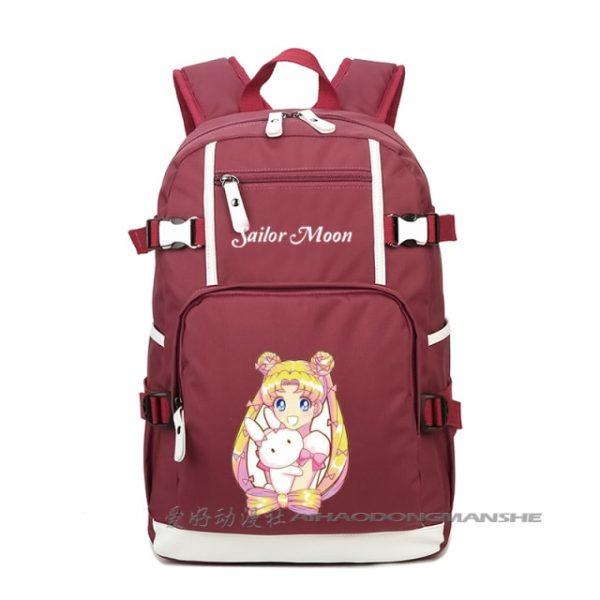 Harajuku Sailor Moon Luminous Cosplay Backpacks Women Anime Laptop Schoolbag Kawaii cute Rucksack Mochila Feminina A71205 15.jpg 640x640 15 - Anime Backpacks
