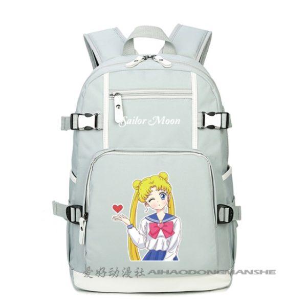 Harajuku Sailor Moon Luminous Cosplay Backpacks Women Anime Laptop Schoolbag Kawaii cute Rucksack Mochila Feminina A71205 9.jpg 640x640 9 - Anime Backpacks