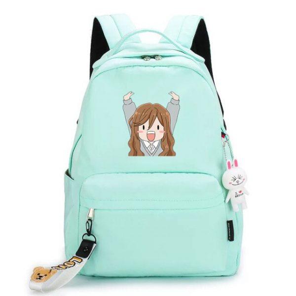 Japanese Hot Anime Horimiya Cosplay Hori san to Miyamura kun Zipper Shoulders Bag Prop Color Printing 15.jpg 640x640 15 - Anime Backpacks