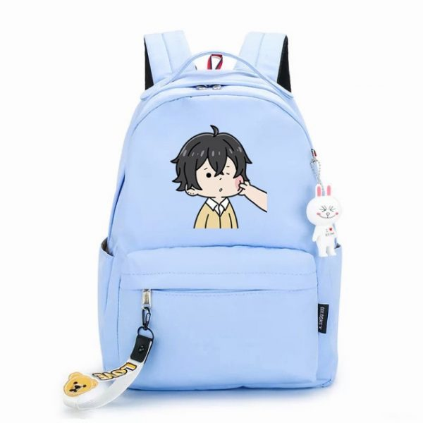 Japanese Hot Anime Horimiya Cosplay Hori san to Miyamura kun Zipper Shoulders Bag Prop Color Printing 24.jpg 640x640 24 - Anime Backpacks