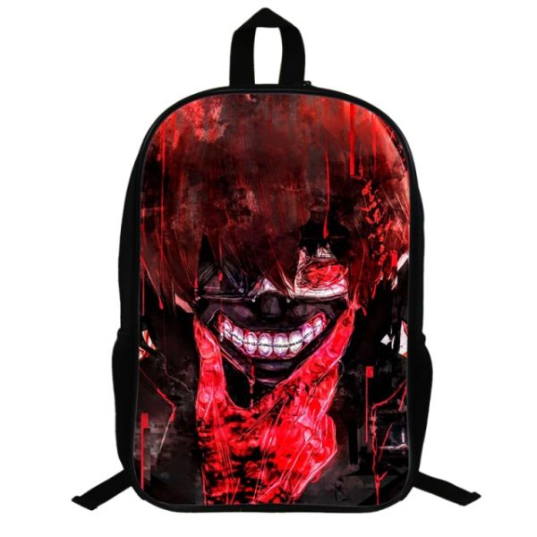 Japanese anime tokyo Ghoul Backpack 3D Cosply Print School Bags Girls Travel Bag demon Notebook Bags 29.jpg 640x640 29 - Anime Backpacks