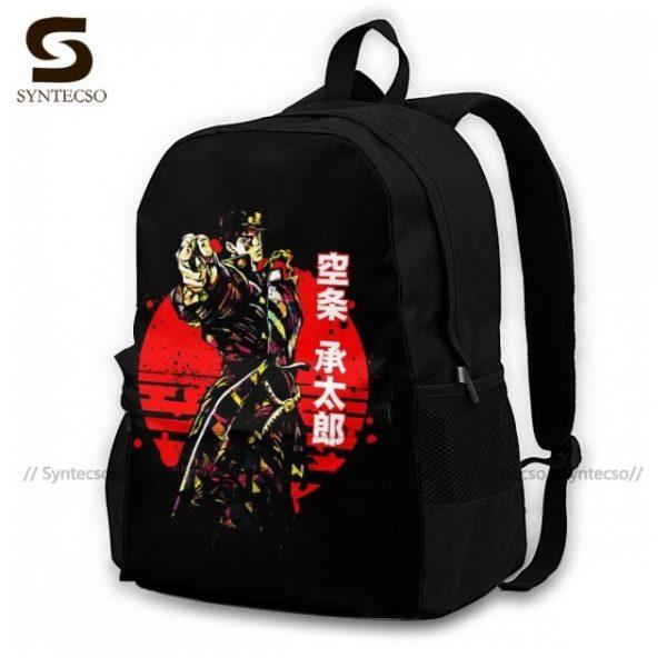 Jojo Bizarre Adventure Backpacks Elegant Polyester Commuter Backpack Female Durable Bags 10.jpg 640x640 10 - Anime Backpacks