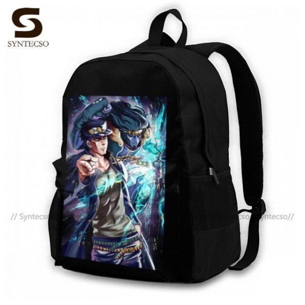 Jojo Bizarre Adventure Backpacks Elegant Polyester Commuter Backpack Female Durable Bags 11.jpg 640x640 11 - Anime Backpacks