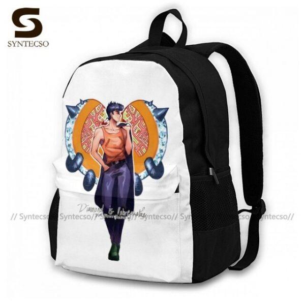 Jojo Bizarre Adventure Backpacks Elegant Polyester Commuter Backpack Female Durable Bags 14.jpg 640x640 14 - Anime Backpacks