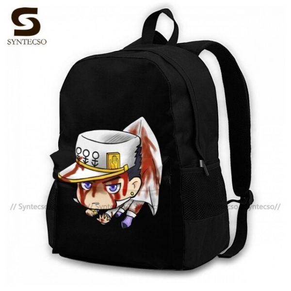 Jojo Bizarre Adventure Backpacks Elegant Polyester Commuter Backpack Female Durable Bags 17.jpg 640x640 17 - Anime Backpacks