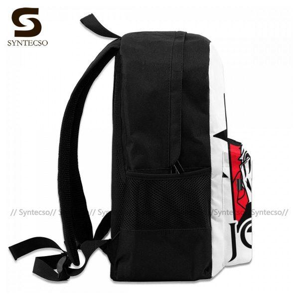 Jojo Bizarre Adventure Backpacks Elegant Polyester Commuter Backpack Female Durable Bags 4 - Anime Backpacks