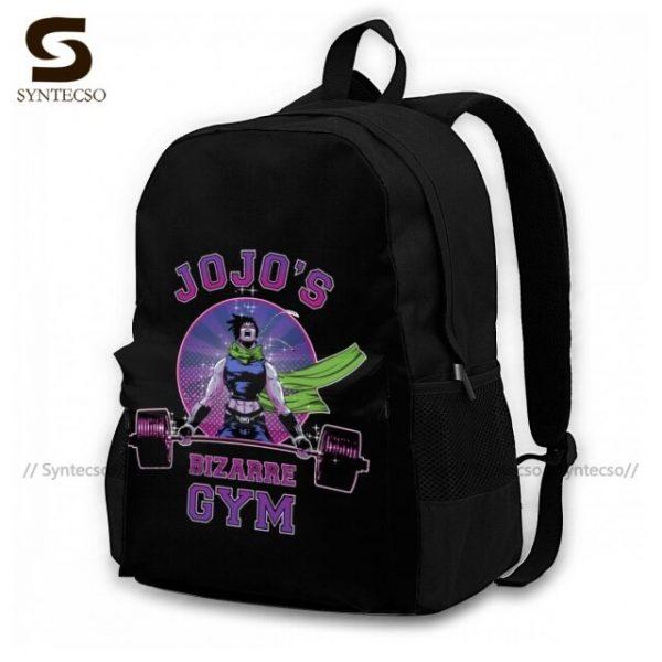Jojo Bizarre Adventure Backpacks Elegant Polyester Commuter Backpack Female Durable Bags 5.jpg 640x640 5 - Anime Backpacks