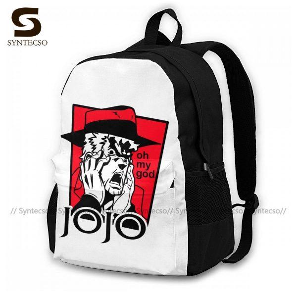Jojo Bizarre Adventure Backpacks Elegant Polyester Commuter Backpack Female Durable Bags - Anime Backpacks