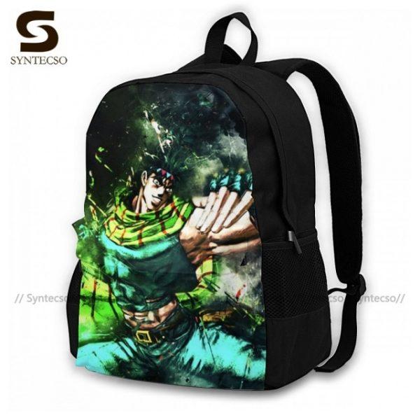 Jojo Bizarre Adventure Backpacks Elegant Polyester Commuter Backpack Female Durable Bags 8.jpg 640x640 8 - Anime Backpacks