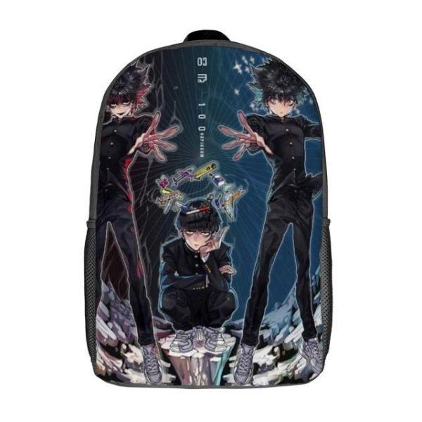 Mob Psycho Backpacks Soft Fun Polyester Backpack Jogging Runner Bags 1.jpg 640x640 1 - Anime Backpacks