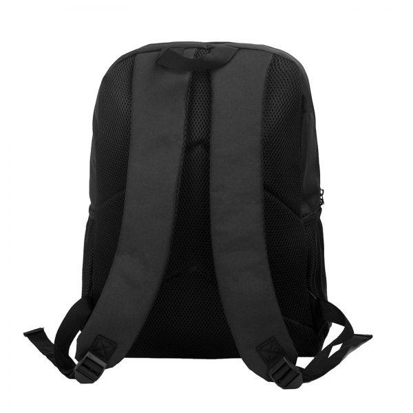 Mob Psycho Backpacks Soft Fun Polyester Backpack Jogging Runner Bags 5 - Anime Backpacks