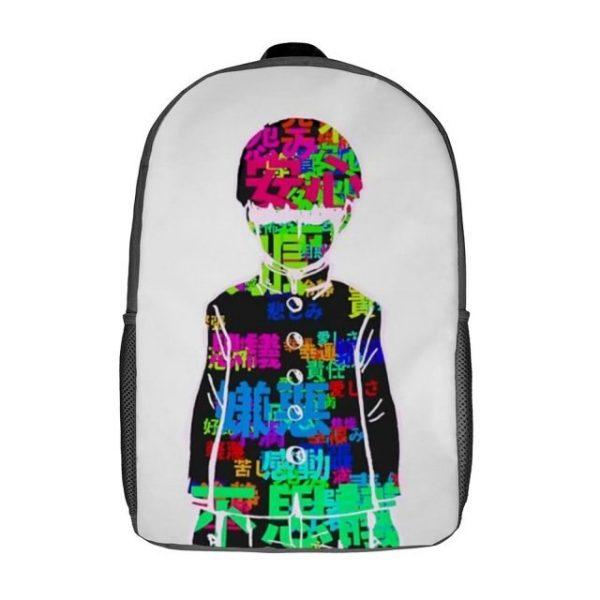 Mob Psycho Backpacks Soft Fun Polyester Backpack Jogging Runner - Anime Backpacks