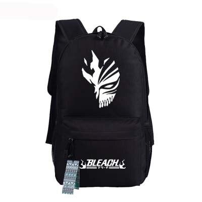 New Bleach Backpack Anime Kurosaki Ichigo oxford Schoolbags Fashion Unisex Travel Bag 1.jpg 640x640 1 - Anime Backpacks