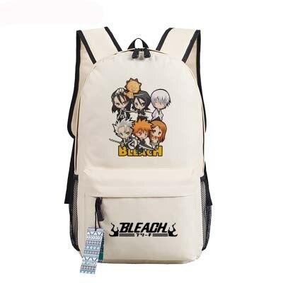 New Bleach Backpack Anime Kurosaki Ichigo oxford Schoolbags Fashion Unisex Travel Bag 2.jpg 640x640 2 - Anime Backpacks