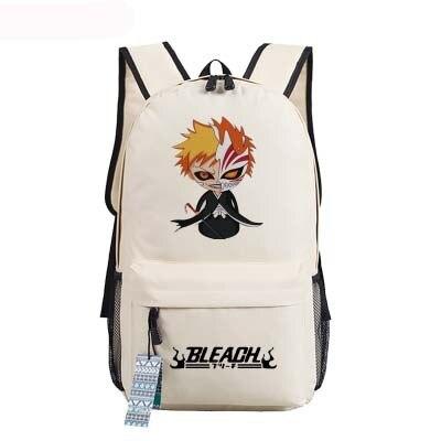 New Bleach Backpack Anime Kurosaki Ichigo oxford Schoolbags Fashion Unisex Travel - Anime Backpacks