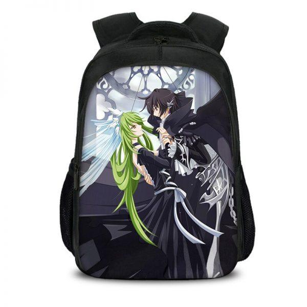 New Code Geass Children School Bags For Teenagers Girls Backpack Boys Waterproof School Backpack Kid Large 2 - Anime Backpacks