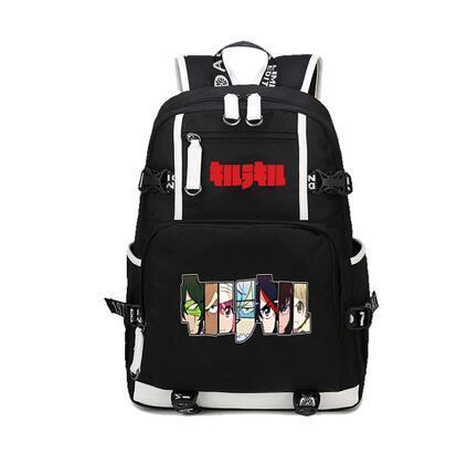 New Japanese Anime Harajuku KILL la KILL Matoi Ryuuko Printing Backpack Canvas School Bags for Teenagers 2.jpg 640x640 2 - Anime Backpacks