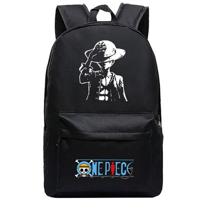 One Piece Backpack Luffy Teenagers Anime Rucksack Canvas Zoro Ace Gear Fourth Schoolbag 14.jpg 640x640 14 - Anime Backpacks