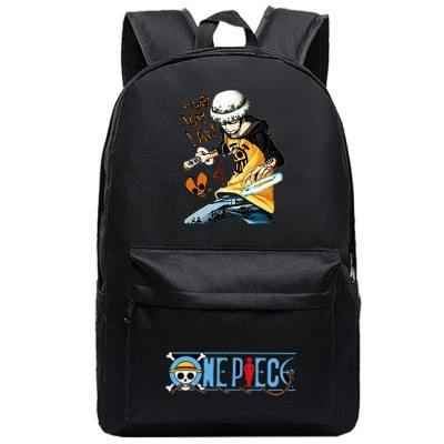 One Piece Backpack Luffy Teenagers Anime Rucksack Canvas Zoro Ace Gear Fourth Schoolbag 15.jpg 640x640 15 - Anime Backpacks
