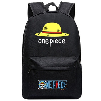 One Piece Backpack Luffy Teenagers Anime Rucksack Canvas Zoro Ace Gear Fourth Schoolbag 2.jpg 640x640 2 - Anime Backpacks