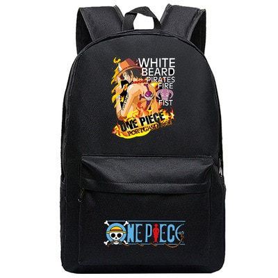 One Piece Backpack Luffy Teenagers Anime Rucksack Canvas Zoro Ace Gear Fourth Schoolbag 20.jpg 640x640 20 - Anime Backpacks