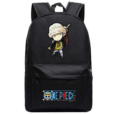 One Piece Backpack Luffy Teenagers Anime Rucksack Canvas Zoro Ace Gear Fourth Schoolbag 3.jpg 640x640 3 - Anime Backpacks