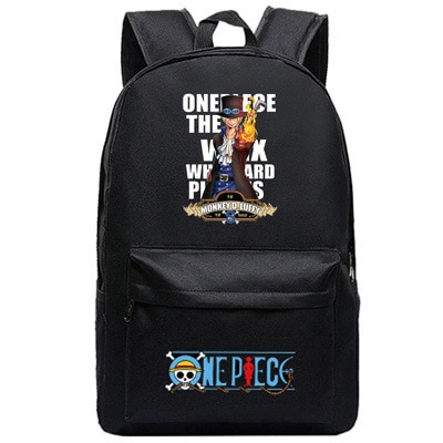 One Piece Backpack Luffy Teenagers Anime Rucksack Canvas Zoro Ace Gear Fourth Schoolbag 5.jpg 640x640 5 - Anime Backpacks