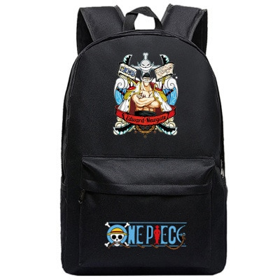 One Piece Backpack Luffy Teenagers Anime Rucksack Canvas Zoro Ace Gear Fourth Schoolbag 6.jpg 640x640 6 - Anime Backpacks