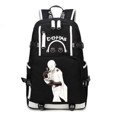 One Punch Man Backpack Anime Saitama Cosplay Nylon School Bag Travel Bags 9.jpg 640x640 9 - Anime Backpacks