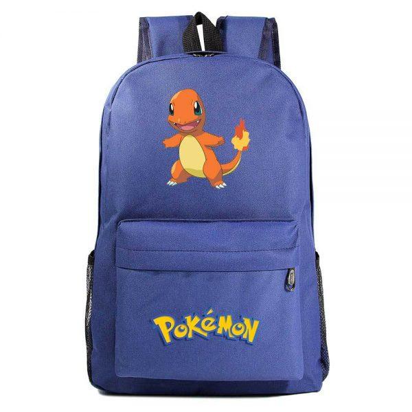 Orinigal Takara Tomy Pokemon Charmander Backpack Ainme Cartoon Print Schoolbag Fashion Casual Backpack Kids Christmas Gifts 5 - Anime Backpacks