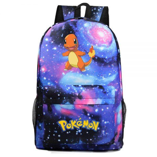 Orinigal Takara Tomy Pokemon Charmander Backpack Ainme Cartoon Print Schoolbag Fashion Casual Backpack Kids Christmas Gifts - Anime Backpacks