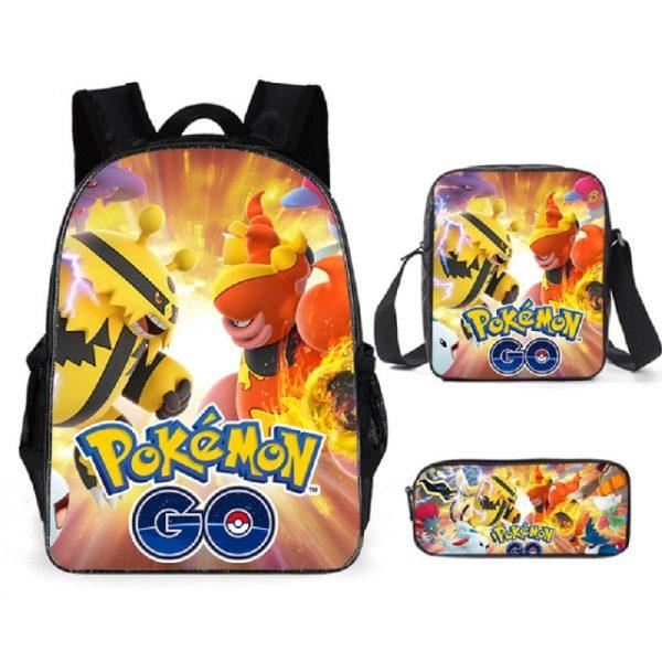 Pokemon Backpack Shoulder Bag Pencil Bag 28 Styles Baby Girl Backpack Cute Bags for Girls Christmas 6.jpg 640x640 6 - Anime Backpacks