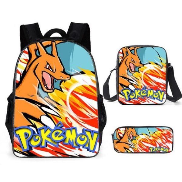 Pokemon Backpack Shoulder Bag Pencil Bag 28 Styles Baby Girl Backpack Cute Bags for Girls Christmas 8.jpg 640x640 8 - Anime Backpacks