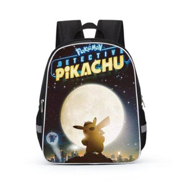 Pokemon Cartoons Anime Figure Pikachu Children s School Backpack Kids Pokemon School Bags Design 3D Backpack 10.jpg 640x640 10 - Anime Backpacks