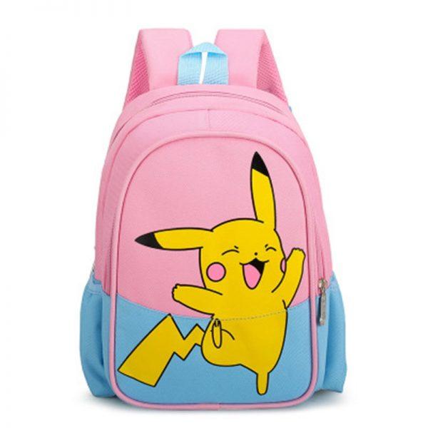 Pokemon Children Backpack Girl Boy Unisex Knapsack Anime Figure Pikachu Rucksack School Bag Child Kids Cartoon 1 - Anime Backpacks