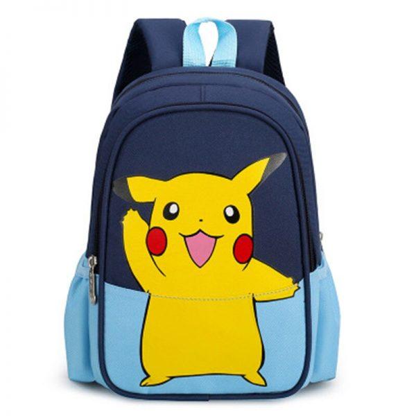 Pokemon Children Backpack Girl Boy Unisex Knapsack Anime Figure Pikachu Rucksack School Bag Child Kids Cartoon 3 - Anime Backpacks