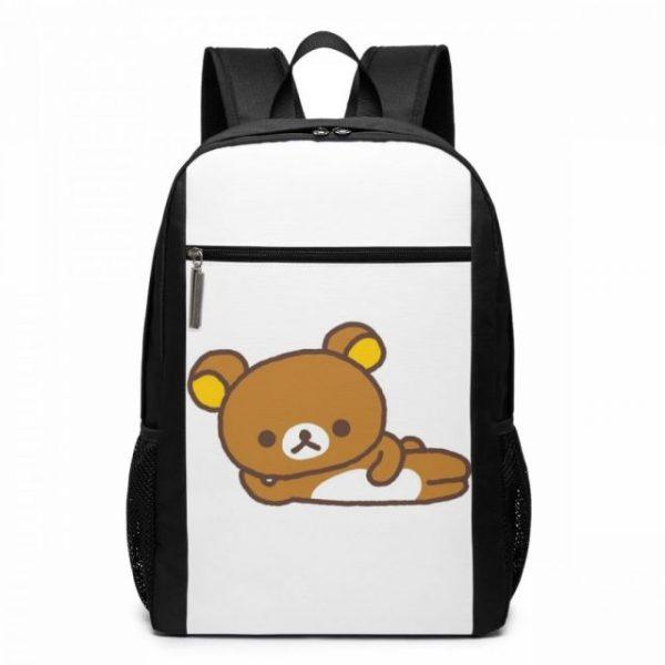 Rilakkuma Backpack Cute Rilakkuma Squishy Cheeks Print Backpacks Multi Function Print Bag Teen Sports Man Woman 2.jpg 640x640 2 - Anime Backpacks