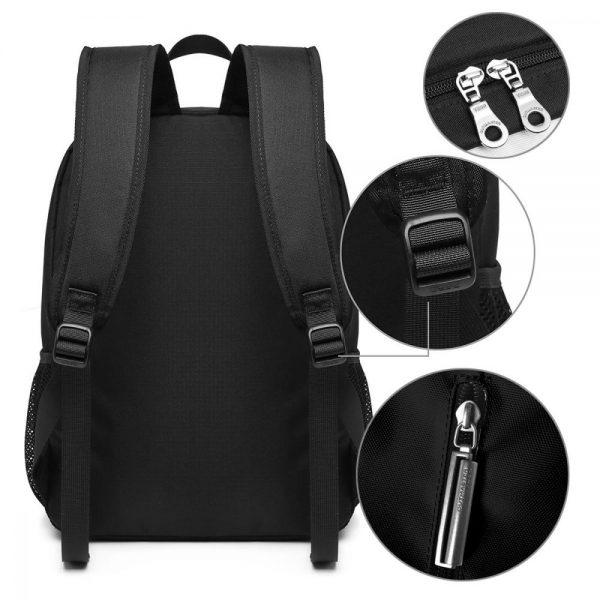 Rilakkuma Backpack Cute Rilakkuma Squishy Cheeks Print Backpacks Multi Function Print Bag Teen Sports Man Woman 3 - Anime Backpacks