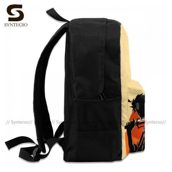 Samurai Champloo Backpacks Cute Polyester Cycling Backpack Male Pattern Bags 4 - Anime Backpacks
