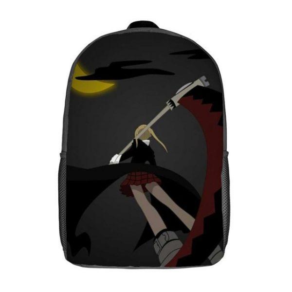 Soul Eater Backpacks Print Elegant Polyester Backpack Camping Unisex Bags 3.jpg 640x640 3 - Anime Backpacks