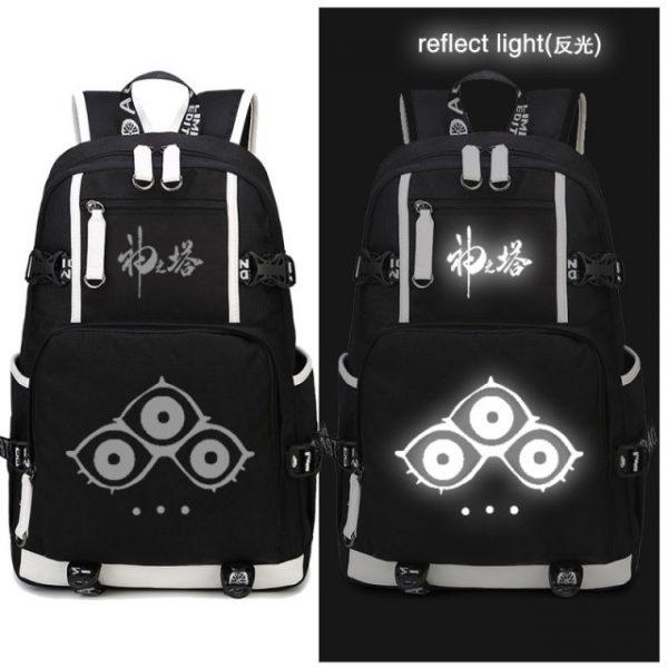 Tower of God Backpack Twenty Fifth Bam Rachel Anime School Bags luminous Travel Bagpack USB Laptop 15.jpg 640x640 15 - Anime Backpacks