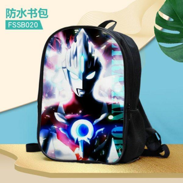 Ultraman Fashion Anime Customized Backpacks Rucksacks School Backpack Casual Bags travel Knapsack Unisex New 11.jpg 640x640 11 - Anime Backpacks