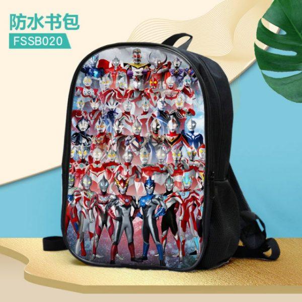 Ultraman Fashion Anime Customized Backpacks Rucksacks School Backpack Casual Bags travel Knapsack Unisex New 6.jpg 640x640 6 - Anime Backpacks