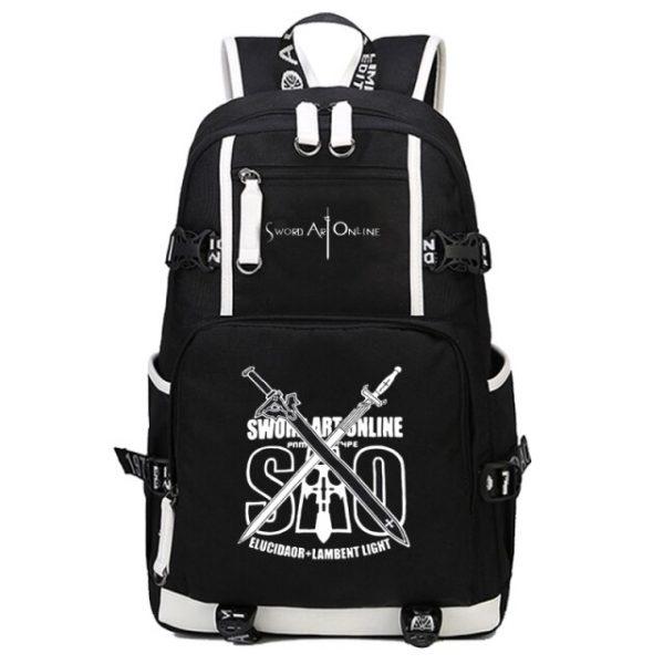 anime Sword Art Online SAO Backpack Cartoon School Travel Bag for Teenagers Nylon Mochila Escolar Rucksack 7.jpg 640x640 7 - Anime Backpacks