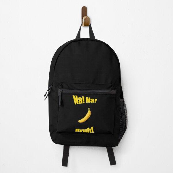 haha bruh bananya backpack redbublle - Anime Backpacks
